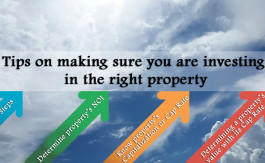 Tips on making sure you are investing in the right property